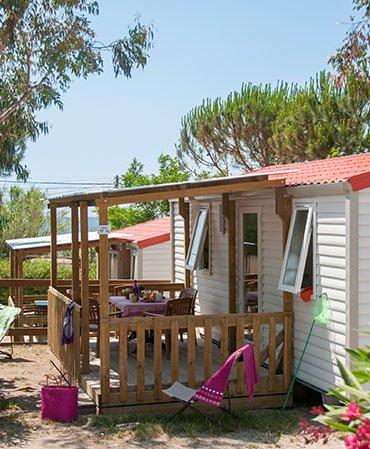 Camping La Tour Fondue MOBILE HOME Azur